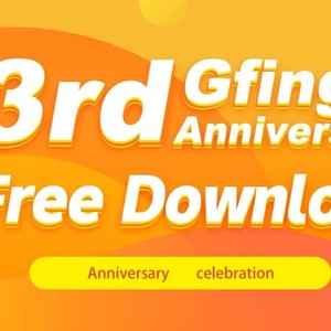 GFinger has been 3rd anniversary!